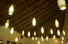 lampshades mozambique lodge