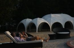 mozambique lodge conference tent