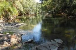 the river at nhafuba hot springs