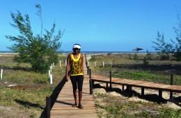 Passadeira da Praia Aissa