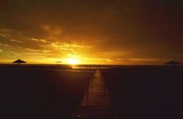 Sunrise horizont