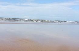 The beach and sea